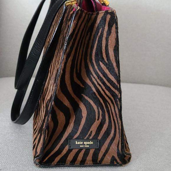 Kate Spade Medium Zebra Print Bag